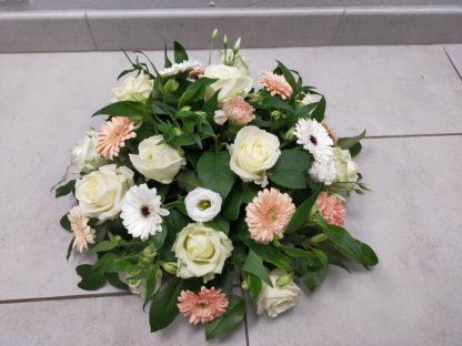 Coussin rond artisan fleuriste blois, 41, Mont-pres-chambord