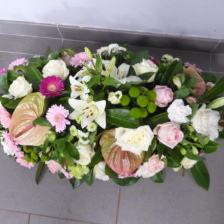 Raquette rose et blanc