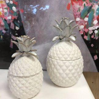 Boite ananas ceramique