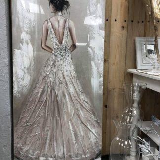 Toile robe de mariée